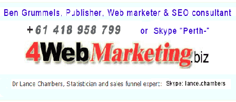 Address phone number Internet marketing consultants office Perth Australia